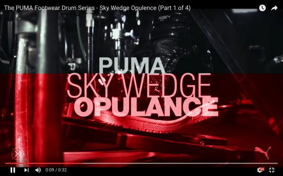 e82b911c275b Puma Footwear Series – Sky Wedge Opulence