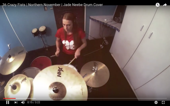 944b746699c2 Northern November – 36 Crazy Fists Drum Cover